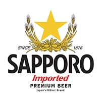 Sapporo Beer at Tacotopia San Diego
