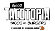 San Diego Reader Presents: Reader Tacotopia on May 8, 2021 Logo